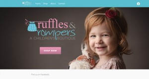 Ruffles and Rompers Website
